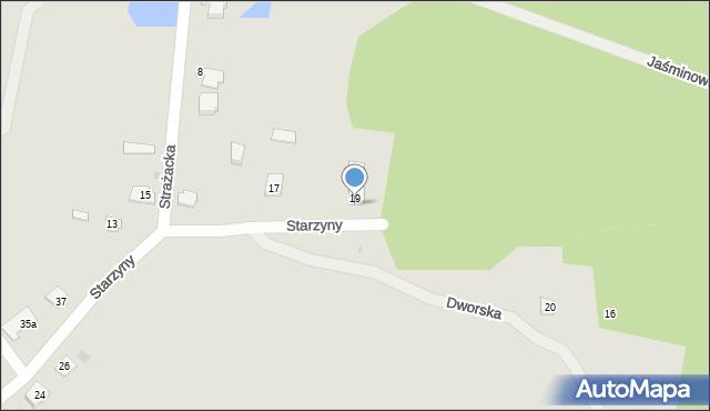Lubaczów, Starzyny, 21, mapa Lubaczów