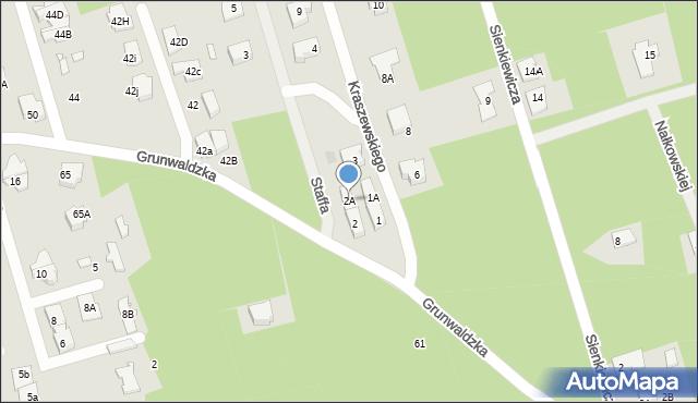 Marki, Staffa Leopolda, 2A, mapa Marki