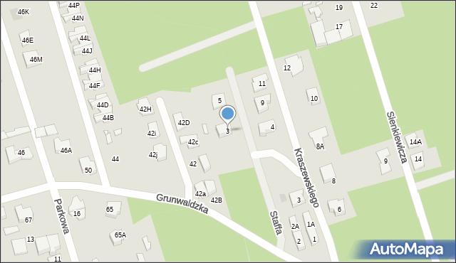 Marki, Staffa Leopolda, 3, mapa Marki