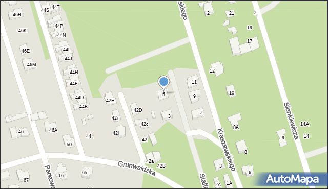 Marki, Staffa Leopolda, 5, mapa Marki