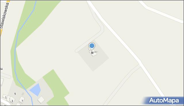 Piątnica Poduchowna, Stawiskowska, 38, mapa Piątnica Poduchowna
