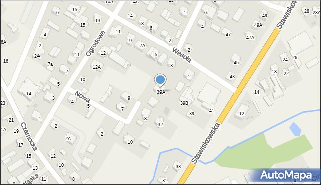 Piątnica Poduchowna, Stawiskowska, 39A, mapa Piątnica Poduchowna