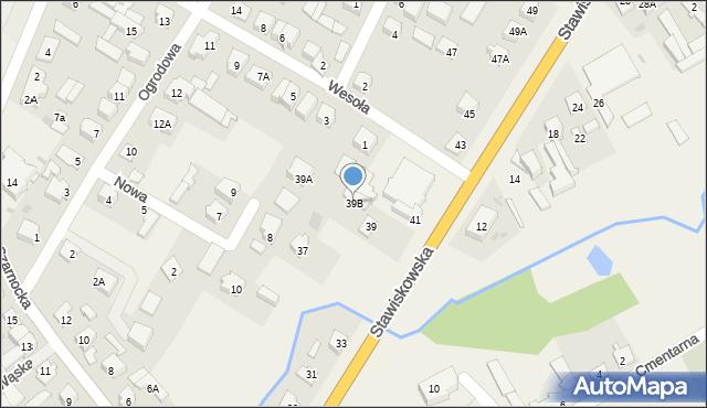 Piątnica Poduchowna, Stawiskowska, 39B, mapa Piątnica Poduchowna