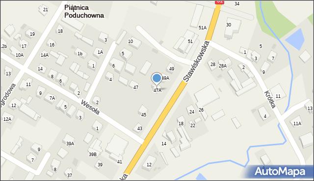 Piątnica Poduchowna, Stawiskowska, 47A, mapa Piątnica Poduchowna
