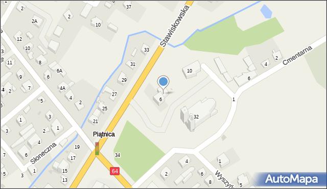 Piątnica Poduchowna, Stawiskowska, 6A, mapa Piątnica Poduchowna