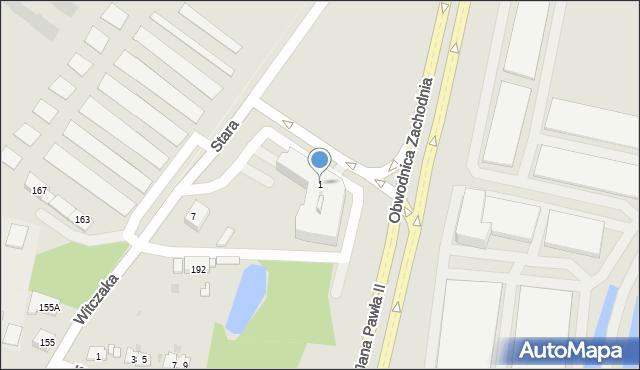 Piekary Śląskie, Stara, 1, mapa Piekary Śląskie