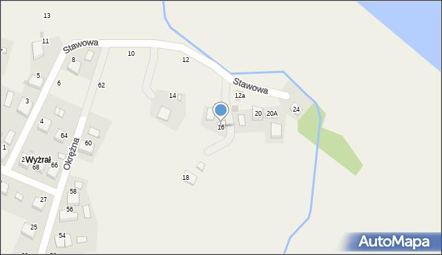 Przeciszów, Stawowa, 16, mapa Przeciszów