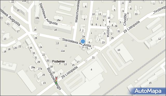 Przemyśl, Stanisława Augusta, 7, mapa Przemyśla
