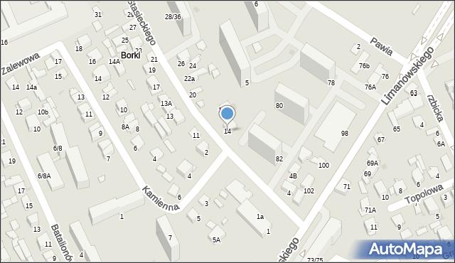 Radom, Stasieckiego Eugeniusza, kpt. hm., 14, mapa Radomia