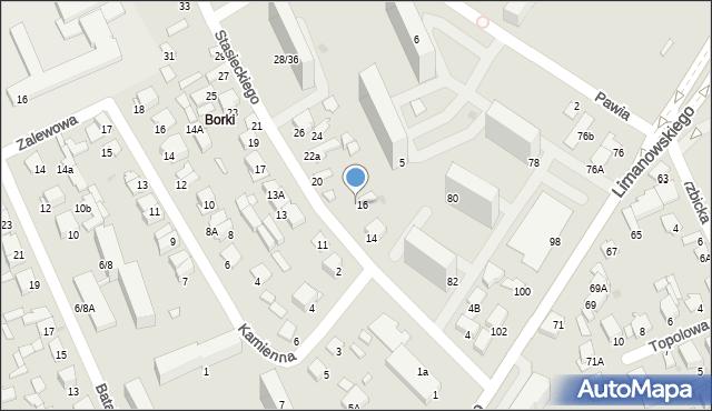 Radom, Stasieckiego Eugeniusza, kpt. hm., 18, mapa Radomia