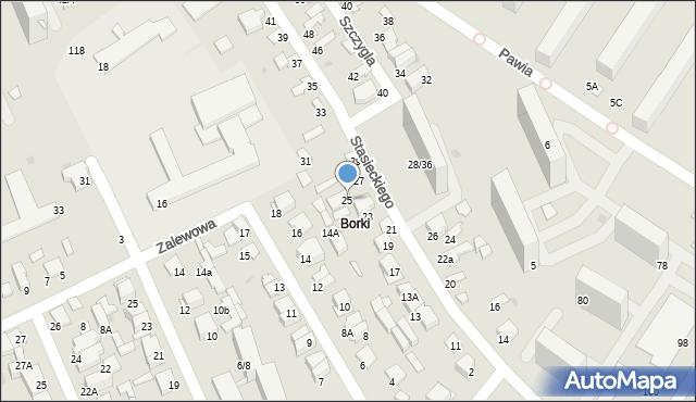 Radom, Stasieckiego Eugeniusza, kpt. hm., 25, mapa Radomia