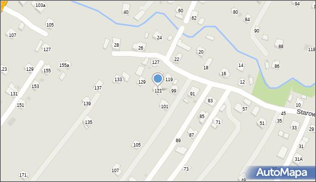 Rzeszów, Starowiejska, 121, mapa Rzeszów