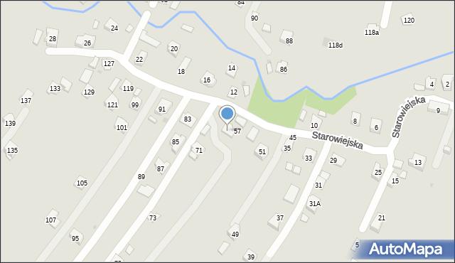Rzeszów, Starowiejska, 59, mapa Rzeszów