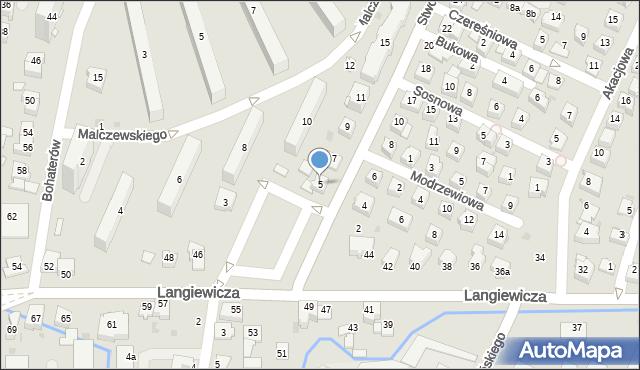 Rzeszów, Stwosza Wita, 5, mapa Rzeszów