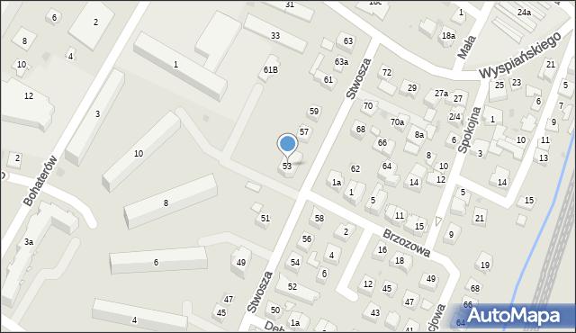 Rzeszów, Stwosza Wita, 53, mapa Rzeszów