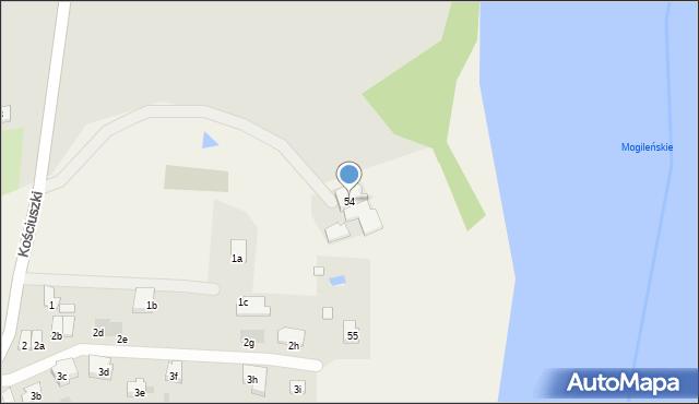 Stawiska, Stawiska, 54, mapa Stawiska