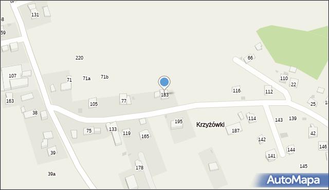 Stojowice, Stojowice, 183, mapa Stojowice