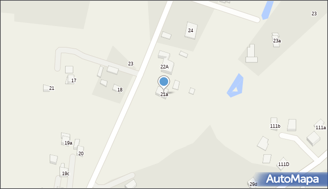 Strzelce, Strzelce, 21a, mapa Strzelce