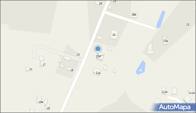 Strzelce, Strzelce, 22A, mapa Strzelce