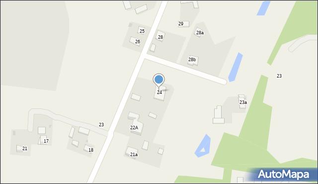 Strzelce, Strzelce, 24, mapa Strzelce