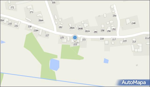 Studzian, Studzian, 223A, mapa Studzian