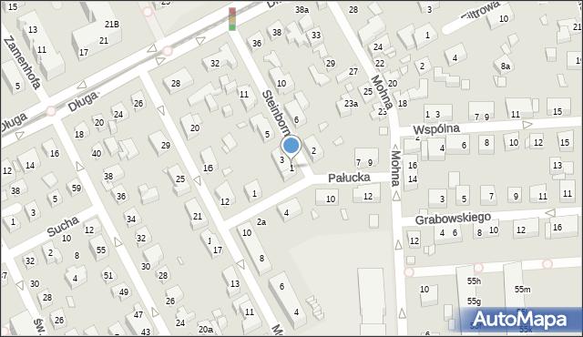 Toruń, Steinbornów, 1, mapa Torunia