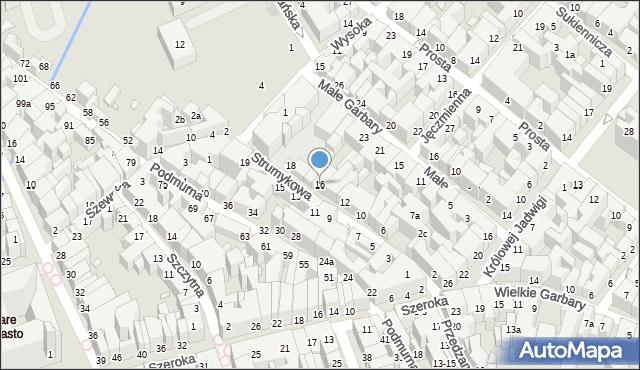 Toruń, Strumykowa, 16, mapa Torunia