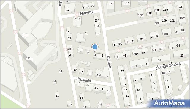 Warszawa, Stadionowa, 3, mapa Warszawy