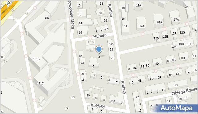Warszawa, Stadionowa, 4, mapa Warszawy