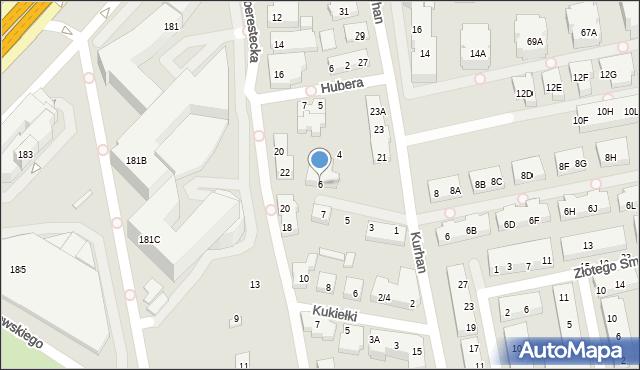 Warszawa, Stadionowa, 6, mapa Warszawy