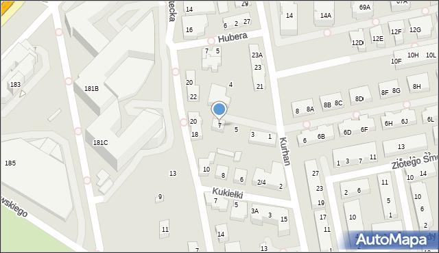 Warszawa, Stadionowa, 7, mapa Warszawy