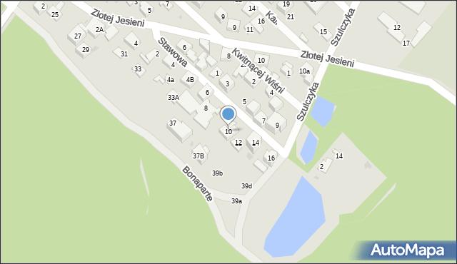 Warszawa, Stawowa, 10, mapa Warszawy