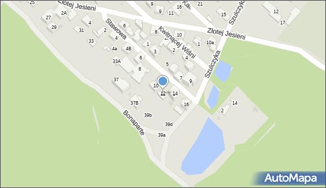 Warszawa, Stawowa, 12, mapa Warszawy
