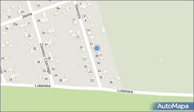 Zabrze, Stwosza Wita, 18, mapa Zabrza