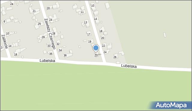 Zabrze, Stwosza Wita, 23, mapa Zabrza
