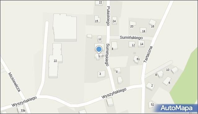 Luzino, Sumińskiego, ks., 7, mapa Luzino