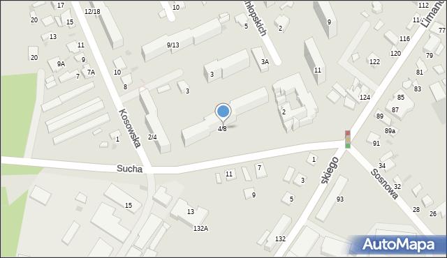 Radom, Sucha, 4, mapa Radomia