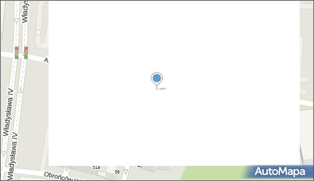 Gdynia, Świętojańska, 33, mapa Gdyni