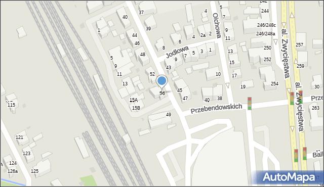 Gdynia, Świerkowa, 66, mapa Gdyni