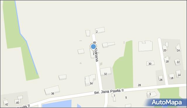 Nidek, św. Floriana, 1, mapa Nidek