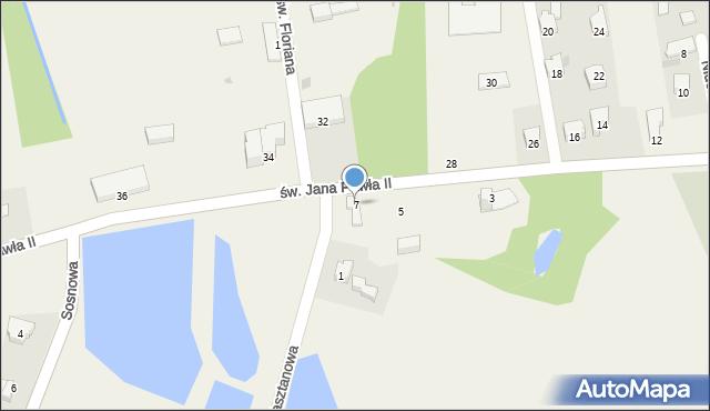 Nidek, św. Jana Pawła II, 7, mapa Nidek