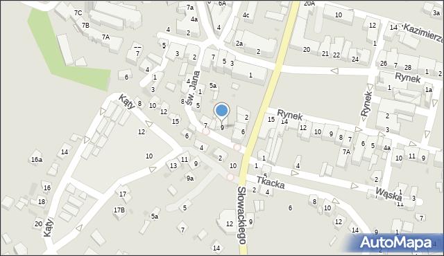 Przeworsk, św. Jana, 9, mapa Przeworsk