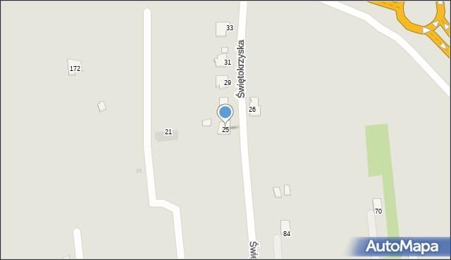 Rzeszów, Świętokrzyska, 25, mapa Rzeszów