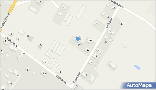 Świerkocin, Świerkocin, 13B, mapa Świerkocin