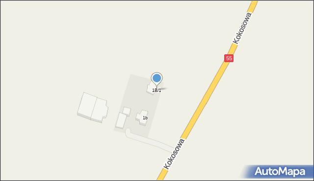 Świerkocin, Świerkocin, 1A, mapa Świerkocin