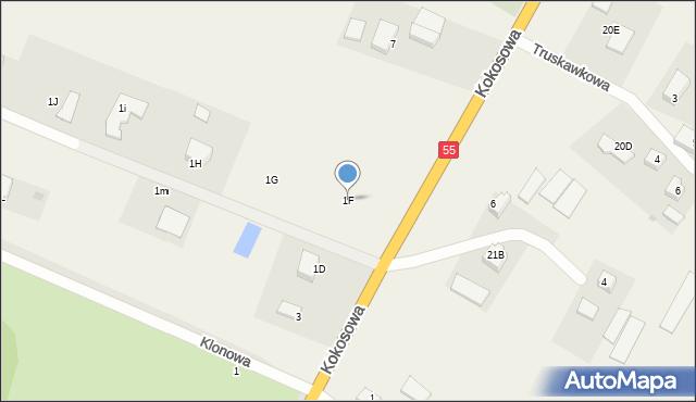 Świerkocin, Świerkocin, 1F, mapa Świerkocin
