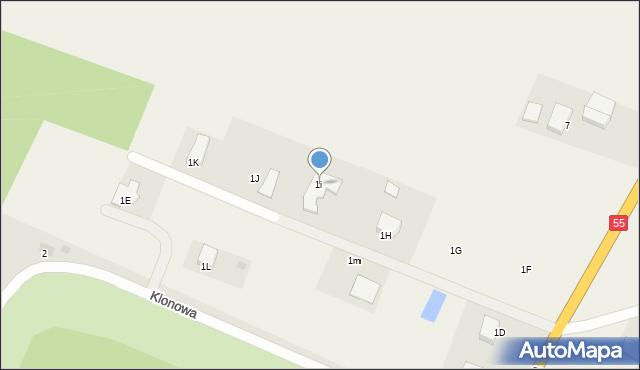 Świerkocin, Świerkocin, 1i, mapa Świerkocin