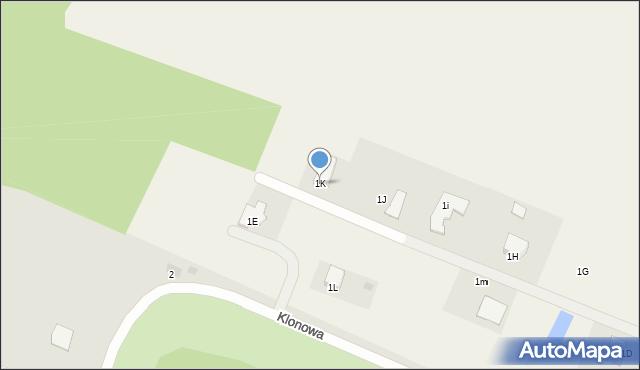 Świerkocin, Świerkocin, 1K, mapa Świerkocin