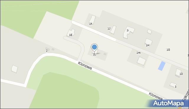 Świerkocin, Świerkocin, 1L, mapa Świerkocin