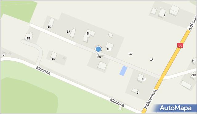 Świerkocin, Świerkocin, 1m, mapa Świerkocin
